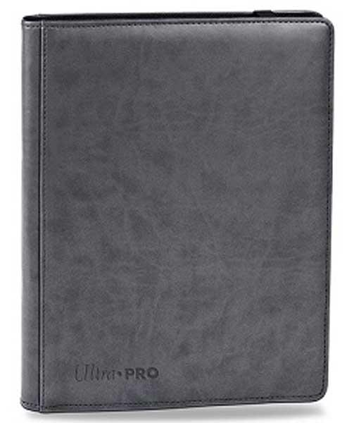UltraPro 9-Pocket Premium PROBinder Grey